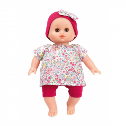 Petitcollin bábika Leo Ecolo 28 cm Sasanka