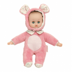 Petitcollin bábika Anibabies Souricette 28 cm