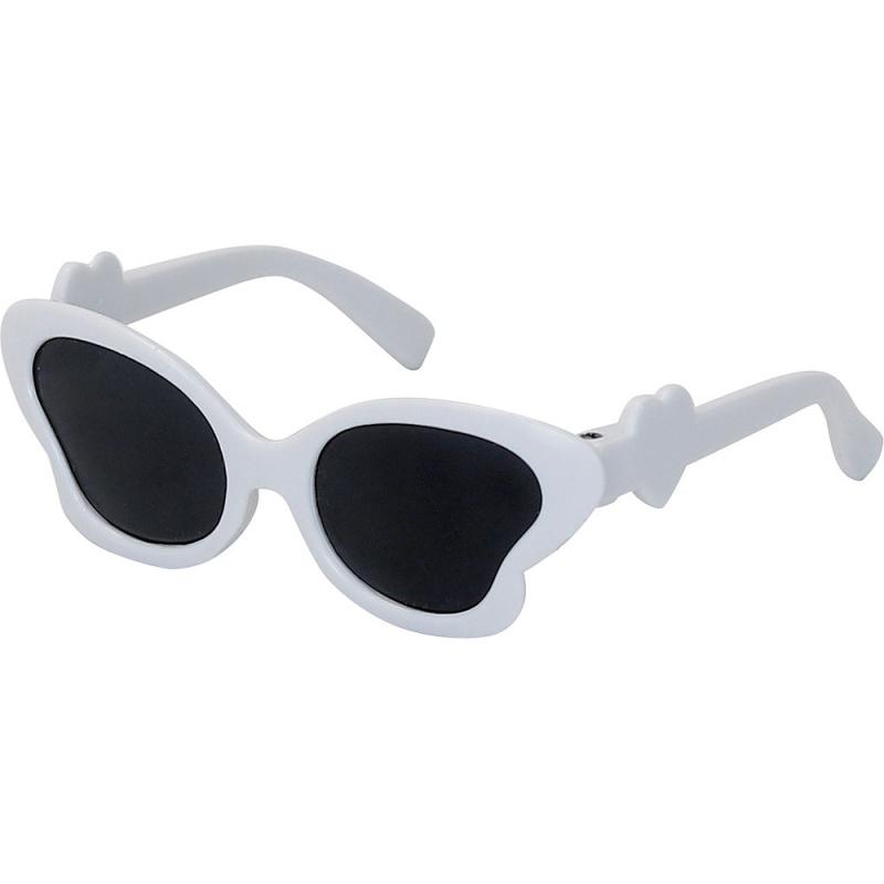 Petitcollin Biele slnečné okuliare pre bábiky