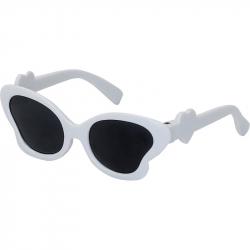 Petitcollin Bílé sluneční brýle pro panenky