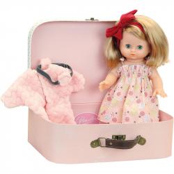 Petitcollin Bábika Elsa 28 cm v kufríku