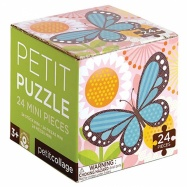 Petitcollage Puzzle motýľ
