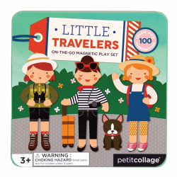 Petitcollage Magnetická knižka Cestovanie