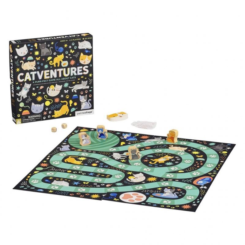 Petitcollage Stolní hra Catventures