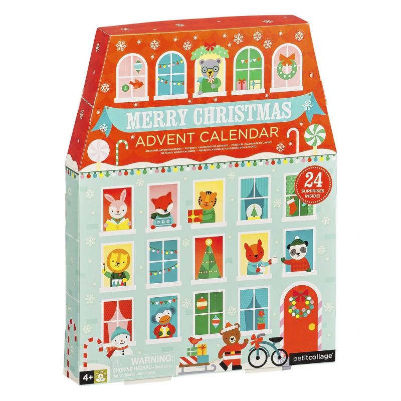 Petitcollage Vánoční adventní kalendář