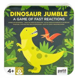 Petitcollage Kartová hra dinosaury