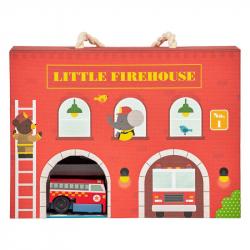 Petitcollage Hracia sada hasičská stanica