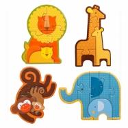 Petitcollage První puzzle mláďata safari