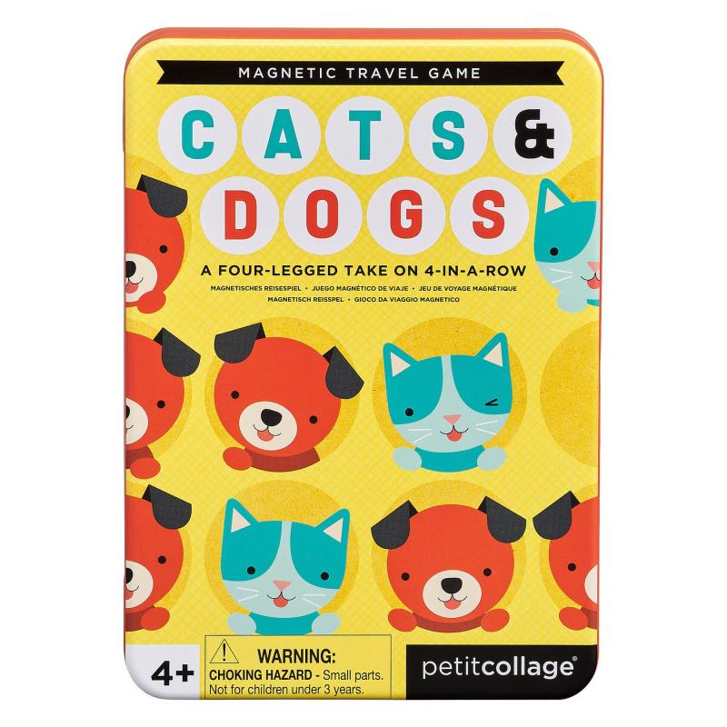 Petitcollage Magnetická hra Kočky a psi