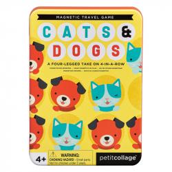 Petitcollage Magnetická hra Mačky a psy
