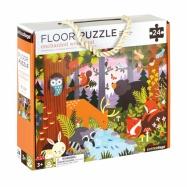 Petitcollage Podlahové puzzle lesné zvieratká