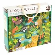 Petitcollage Podlahové puzzle dažďový prales