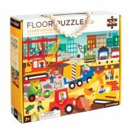 Petitcollage Podlahové puzzle stavba ve městě