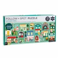 Petitcollage Bludiště a puzzle Město