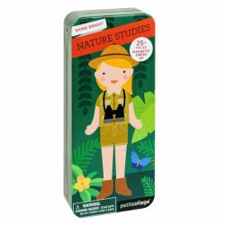 Petitcollage Magnetické puzzle prírodovedkyňa