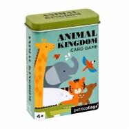 Petitcollage Karty v dóze království zvířat