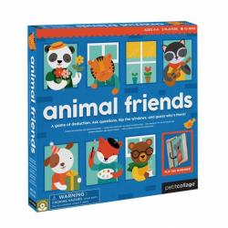 Petitcollage Hra zvierací kamaráti