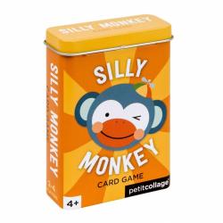 Petitcollage Karty v dóze hlúpa opička