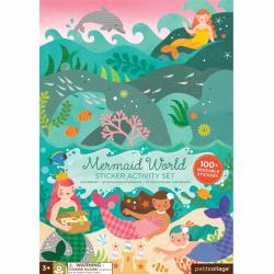 Petitcollage kreatívne samolepky - Svet morskej víly