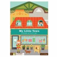 Petitcollage kreatívne samolepky - Moje malé mesto