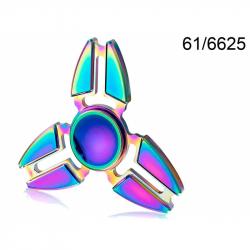 Spinner kovový duhový Crazy Gyro I