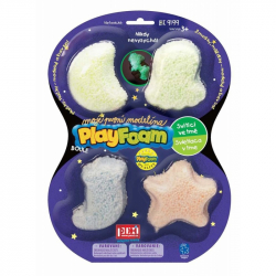 PlayFoam® Boule 4pack svietiace