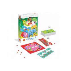 Číslohraní vzdělávací naučná hra v krabici 19x28x4cm