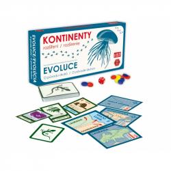 Evoluce-KONTINENTY (rozšíření)