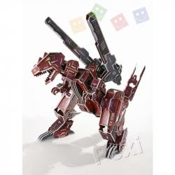 3D PUZZLE - TYRANNOTRON - Microrobot
