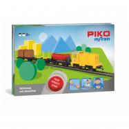Piko Štartovacia sada Nákladný vlak s dieselovou lokomotívou - 57090