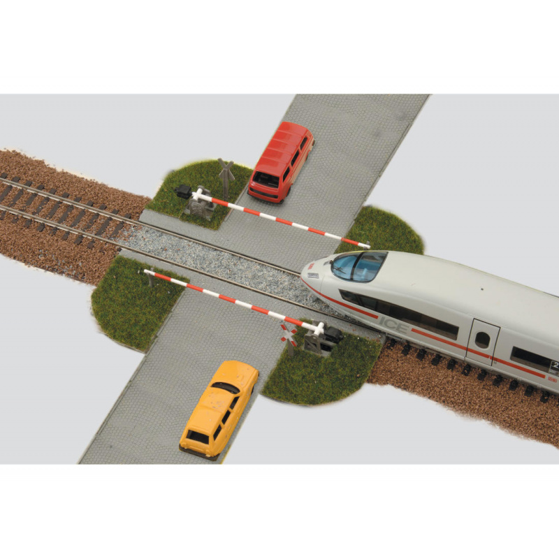 Piko Železniční zábrana 10 dílů - 55725