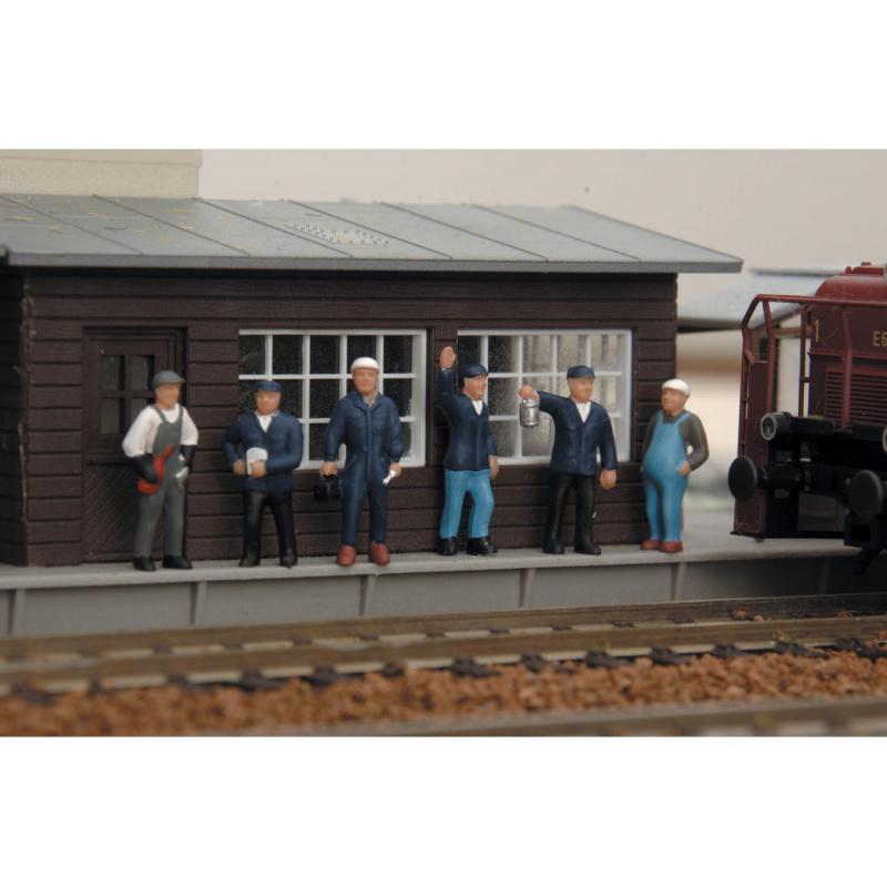 Piko Figurky vlakového personálu 6 kusů - 55730