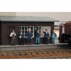 Piko Figúrky vlakového personálu 6 kusov - 55730
