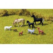 Piko Figurky domácí zvířata 8 kusů - 55732