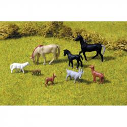 Piko Figúrky domáce zvieratá 8 kusov - 55732