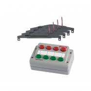 Piko Sada elektromagnetických prestavníkov a ovládací panel - 55392