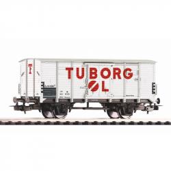Piko Krytý vagón G02 bez kabíny brzdára Tuborg DSB III - 54618