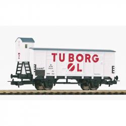 Piko Krytý vagón G02 s kabínou brzdára Tuborg DSB III - 54619