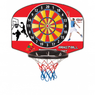 Deska Basket s terčem na šipky