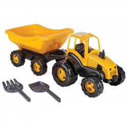 Traktor s vozíkem