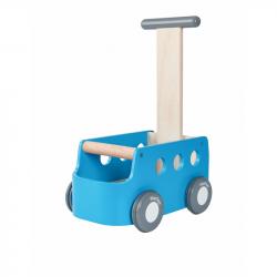 PlanToys Chodítko s vozíkem