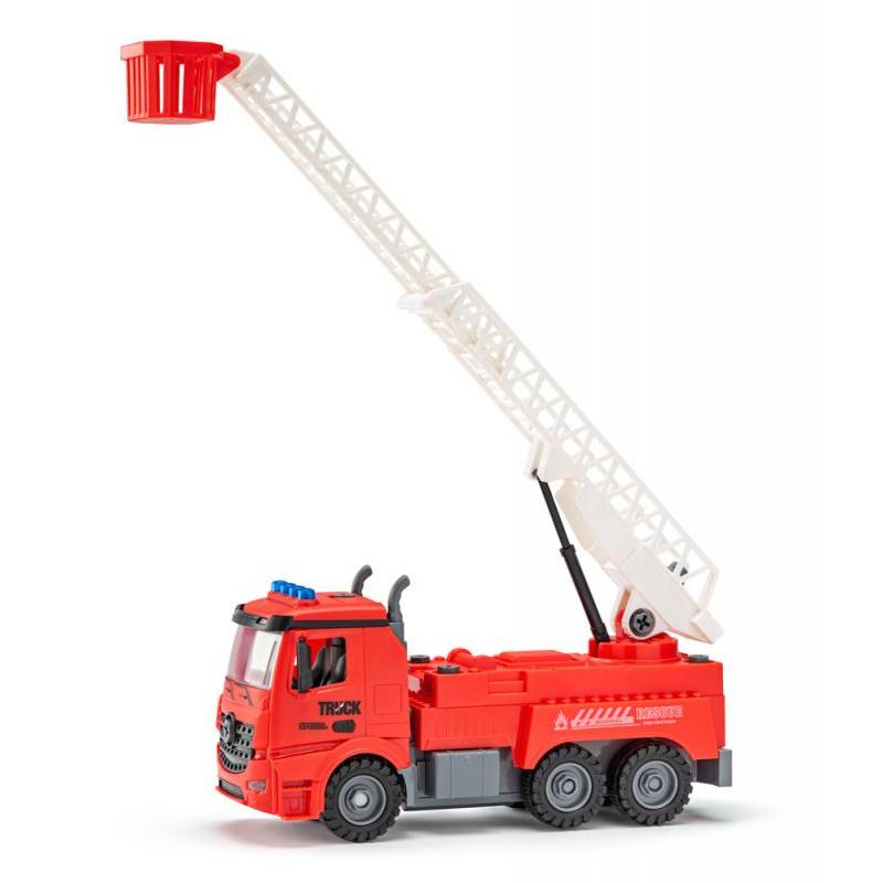 Auto Hasič na dálkové ovládání, stavebnice, 30cm