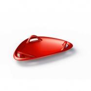 Sánkovacie tanier červená Meteor 60