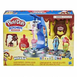 Play-Doh hracia sada zmrzlina s polevou
