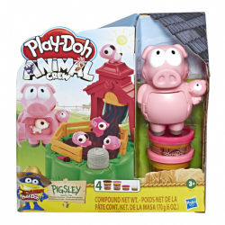 Play-Doh - rochniace sa prasiatka