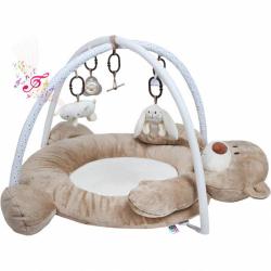 Luxusné hracia deka s melódiou Playtech medvedík