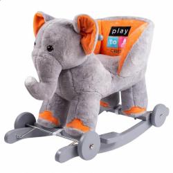 Hojdacia hračka s melódiou a kolieskami PlayTo sloník