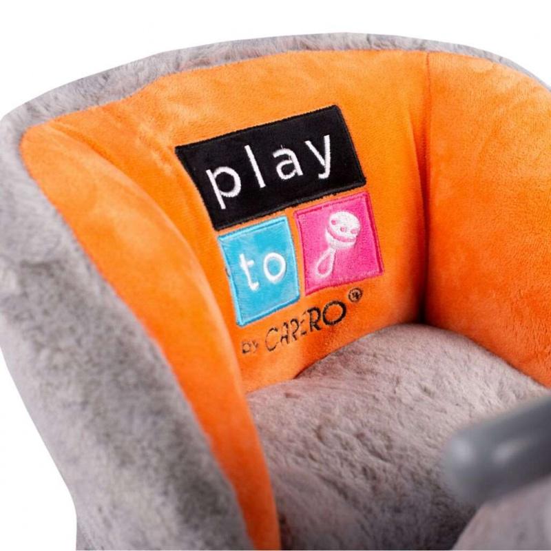 Zabawka na biegunach z melodią i kółkami PlayTo słonik
