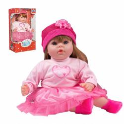 Slovenský hovoriaci a spievajúci detská bábika Playtech Tina 46 cm