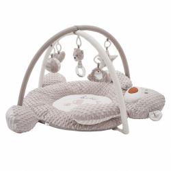 Luxusné hracia deka z Minky s melódiou Playtech medvedík